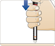 Injecting insulin