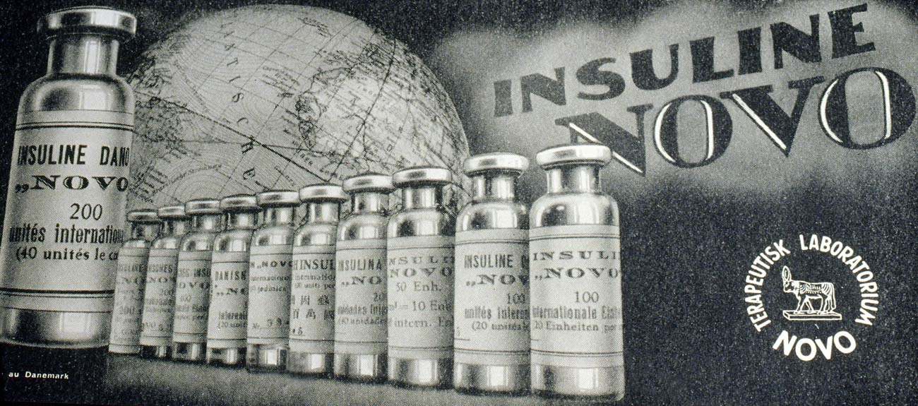 Novo Nordisk History - Insulin Novo Advertisement