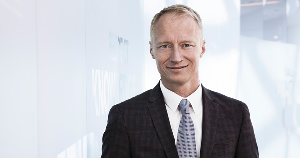 Henrik Wulff, Executive Vice President, Novo Nordisk Product Supply