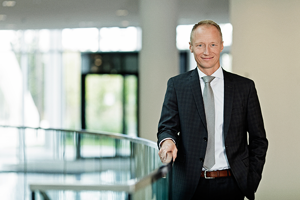 Henrik Wulff, executive vice president, Product Supply, Novo Nordisk
