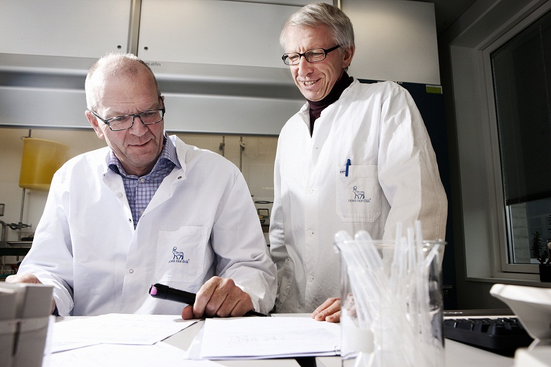 R&D Novo Nordisk, Insulin degludec researchers Ib Jonassen and Svend Havelund