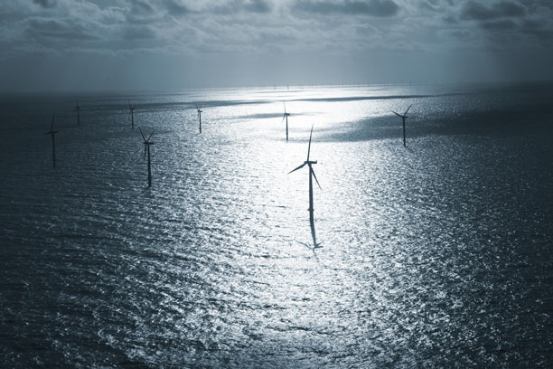 Novo Nordks, renewable energy, Horns Rev 2, North Sea, Denmark