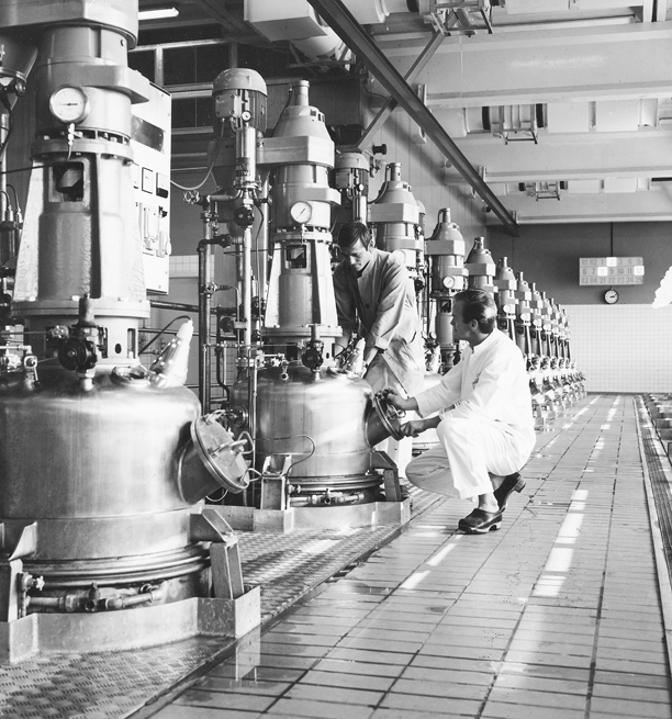 Novo Nordisk history, production site 1970