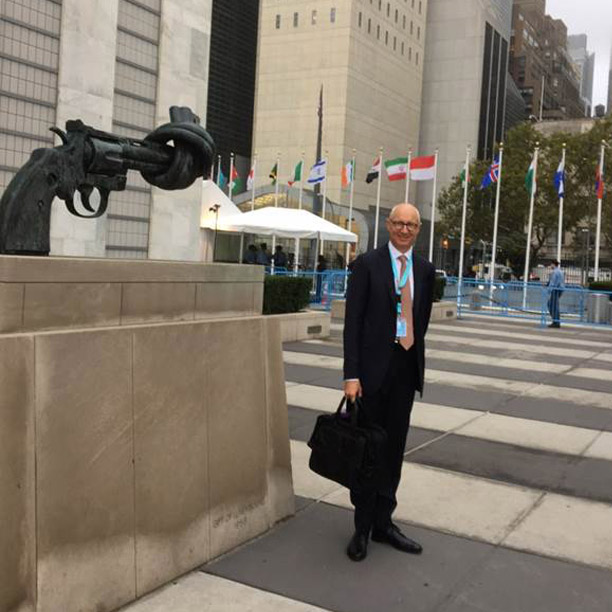 Lars Fruergaard Jørgensen at UN General Assembly, New York